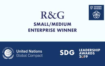 RG Strategic Wins 2019 Canadian SDG Leadership Award